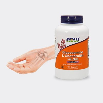 Glukozamina, Chondroityna, MSM